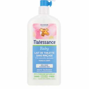 Bébé haute tolérance - Lait de toilette sans rinçage