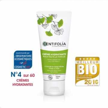 Crème Hydratante pour toute la famille Bio -100 ml - Centifolia