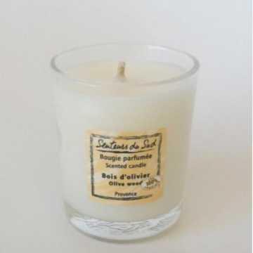 Bougie parfumée - Bois d'olivier - 75 g