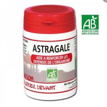 Astragale Bio - Tradition du Soleil Levant - 60 gélules