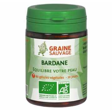 Bardane Bio - 60 gélules - Graine Sauvage