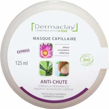 Masque capillaire anti-chute BIO - 125 ml - Dermaclay