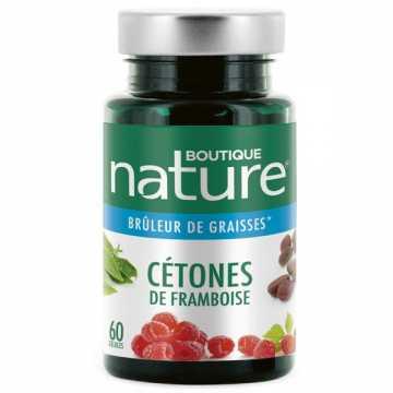 Cétones de framboise - 60 gélules - Boutique Nature