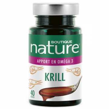 Huile de Krill - 500 mg - 40 gélules - Boutique Nature