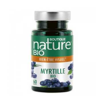 Myrtille Bio - 60 Gélules - Boutique Nature