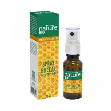 Spray buccal propolis BIO - 20 ml - Boutique nature