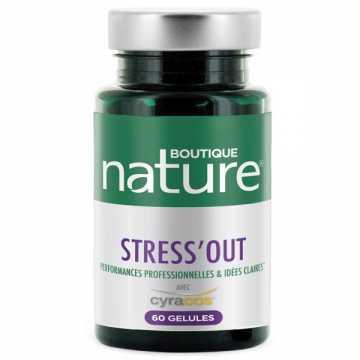 Stress'Out - 60 gélules - Boutique Nature