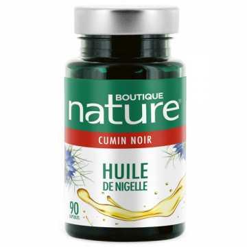 Huile de Nigelle - 90 capsules - Boutique Nature