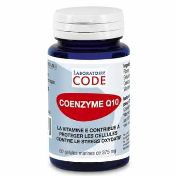 Co-enzyme Q10 - 60 gélules - Laboratoire Code