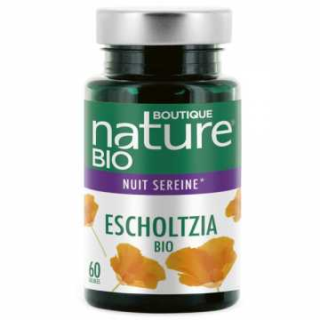 Escholtzia Bio - 60 gélules - Boutique Nature