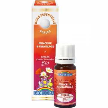 Perles essentielles - minceur - drainage - BIO - 20 ml - Biofloral -