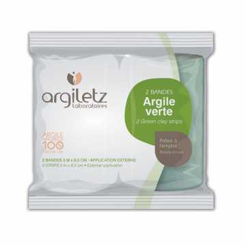 2 Bandes d'Argile verte prêtes à l'emploi - Argiletz -
