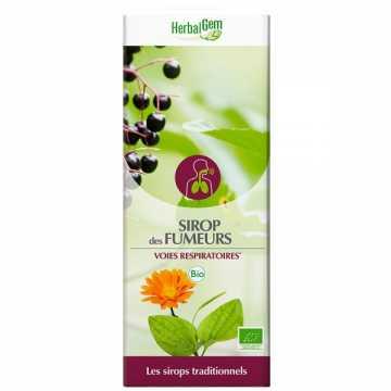 Sirop des fumeurs Bio - 250 ml - Herbalgem -