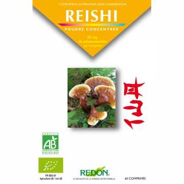 Reishi Bio - 60 comprimés - Redon -