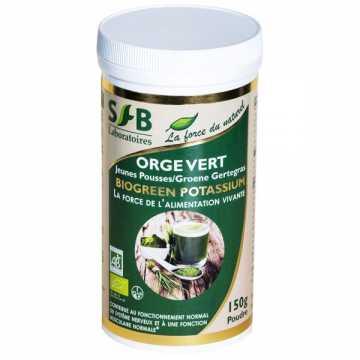 Orge vert Bio - jeunes pousses - 150 g - SFB -
