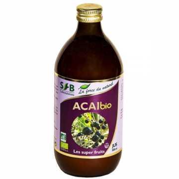 Pur jus d'Acaï Bio - 500 ml - SFB -