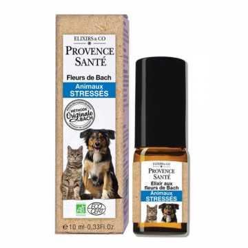 Fleurs de Bach Bio - animaux stressés - 10 ml - Provence Santé -