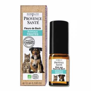 Fleurs de Bach Bio - animaux tristes - 10 ml - Provence Santé -