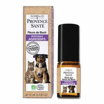 Fleurs de Bach Bio - animaux agressifs - 10 ml - Provence Santé -