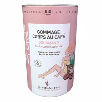 Gommage Corps au Café Gourmand Bio - 200 g - Secrets des Fées -