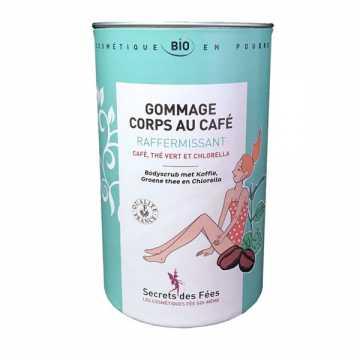 Gommage Corps au Café Raffermissant Bio - 200 g - Secrets des Fées -