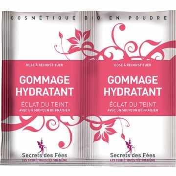 Gommage Hydratant Bio éclat du teint - 2 X 4 g - Secrets des Fées -