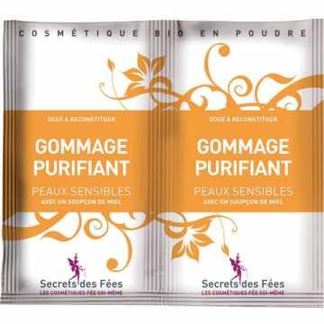 Gommage Purifiant Bio Peaux Sensibles - 2 X 4 g - Secrets des Fées -