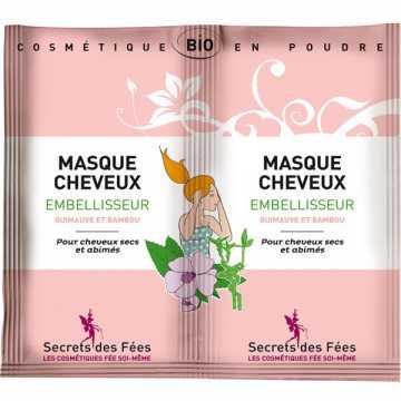 Masque Cheveux Embellisseur Bio - 2 X 8 g - Secrets des Fées -