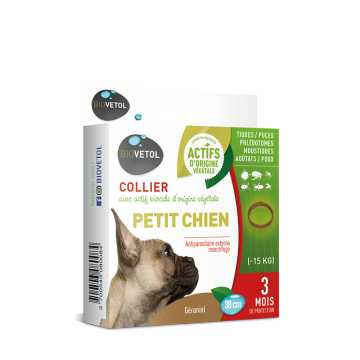 Collier Insectifuge - Chien - Biovetol -