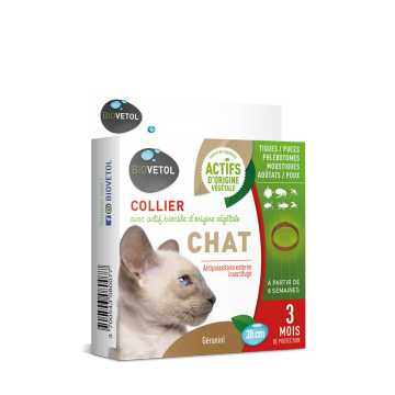 Collier Insectifuge - Chat - Biovetol -