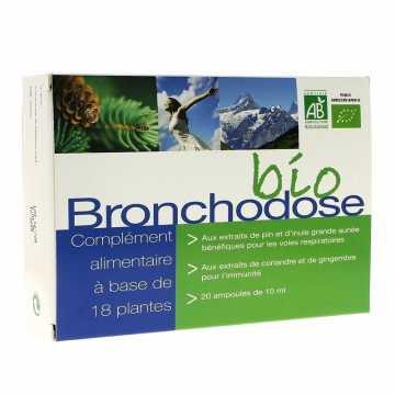 Bronchodose Bio - 20 ampoules - Nutriconcept -