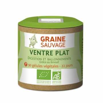Ventre Plat Bio - 90 gélules - Graine Sauvage