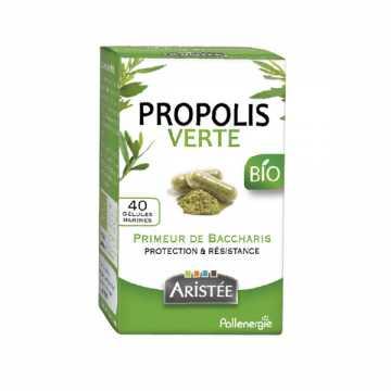 Propolis verte de Baccharis Bio - 40 gélules - Aristée -