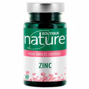 Zinc - 60 gélules - Boutique Nature