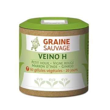 Veino H - 60 Gélules - Graine Sauvage -