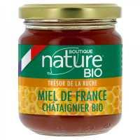 Miel de Châtaignier bio France - 250 g - Boutique Nature