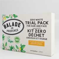 Kit Zéro Déchet Cheveux et Visage - 4 x 20 g -Balade en Provence