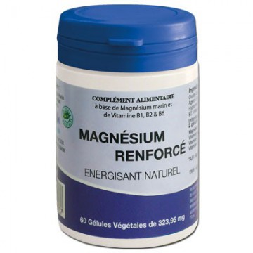 Magnésium Renforcé, 60 gélules - Meralia