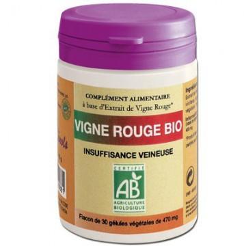 Vigne rouge Bio, 30 gélules - Vinophénols