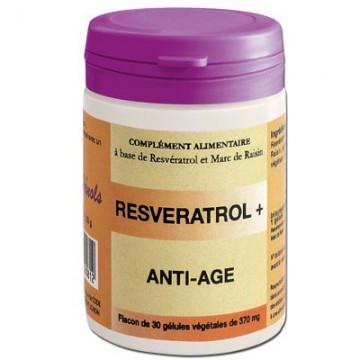 Resvératrol + , 30 gélules - Vinophénols
