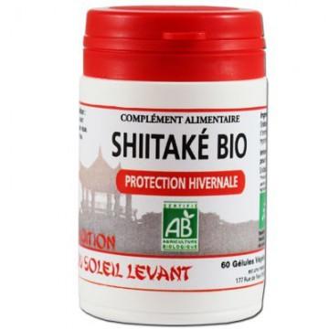 Shiitaké Bio, 60 gélules - Tradition du soleil levant