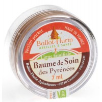 Baume de soin des Pyrénées Bio - version Pocket - Balot - Flurin