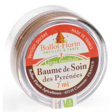 Baume de soin des Pyrénées Bio - 7 ml - version Pocket - Ballot - Flurin